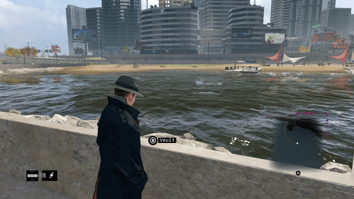 """North Avenue Beach"" as depicted in Watch Dogs. Not sure what it's called in-game."