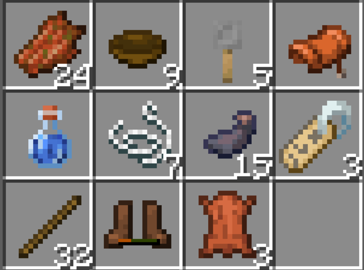 While junk items are, well, junk, they can still be useful, especially things like saddles and name tags