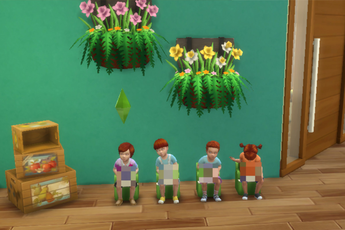 It's the Ginger Potty Hour . . .starring Elyse's mini-mes. I just realized it could also look like the Weasley family.