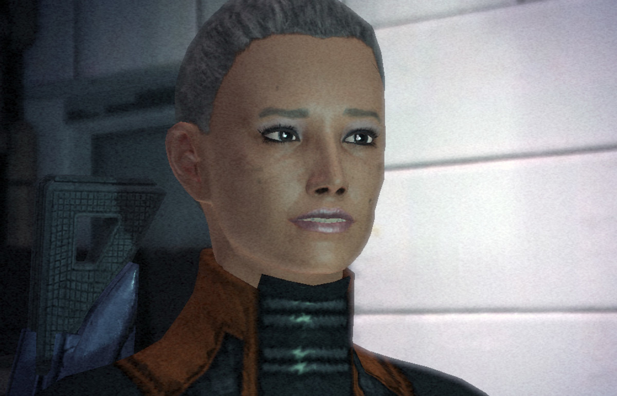 "Helena Blake as she appeared in the first ""Mass Effect."""