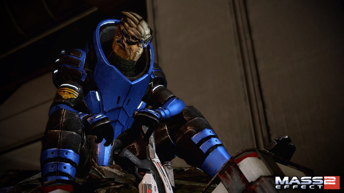 "Garrus' first appearance in ""Mass Effect 2."""