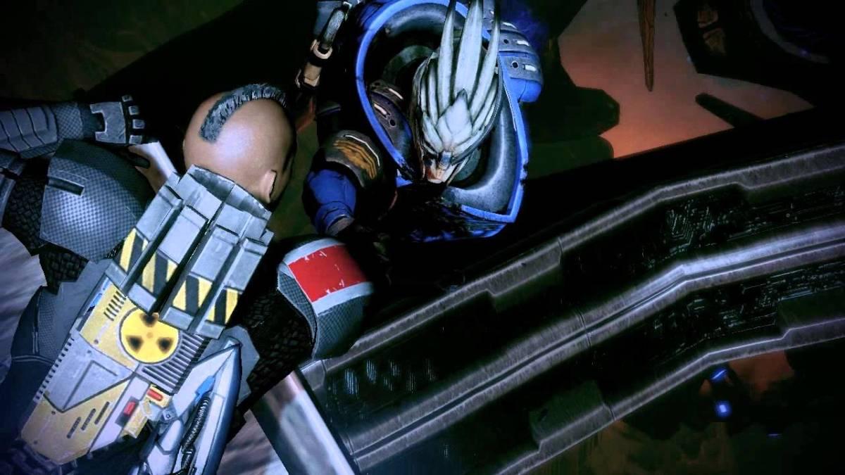 "The death of Garrus in ""Mass Effect 2."""