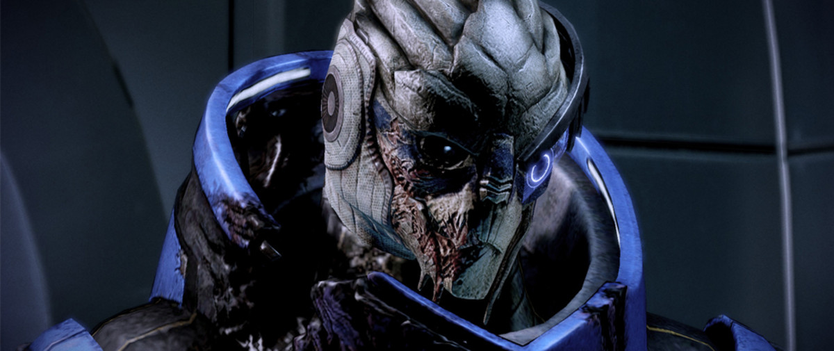 "No, Garrus is not ""the real hero of Mass Effect."""