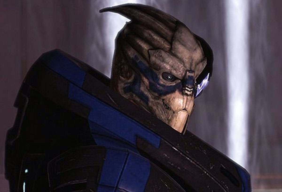 "Garrus as he appeared in the first ""Mass Effect."""