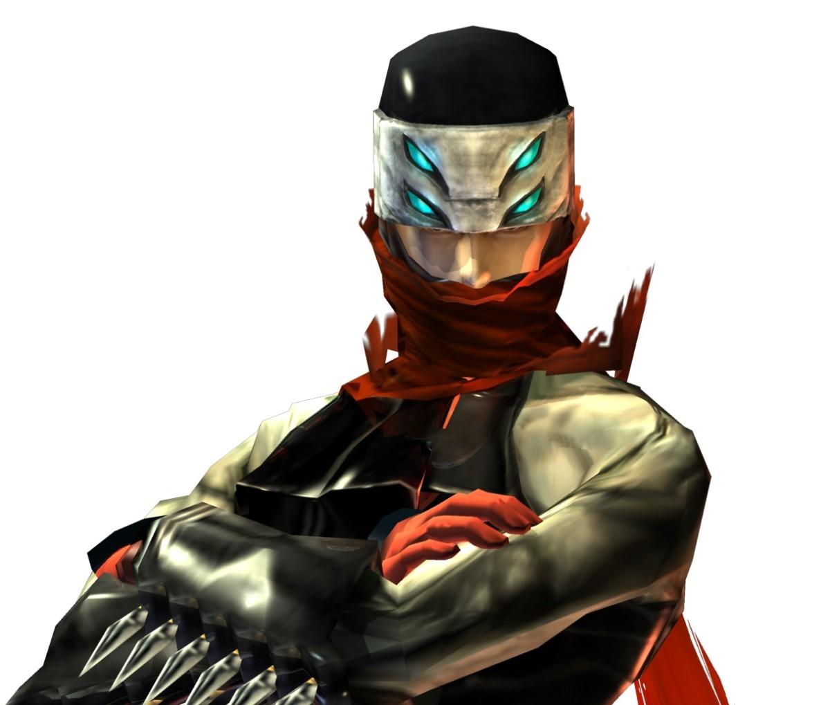 "Hotsuma's Mask in ""Shinobi"""