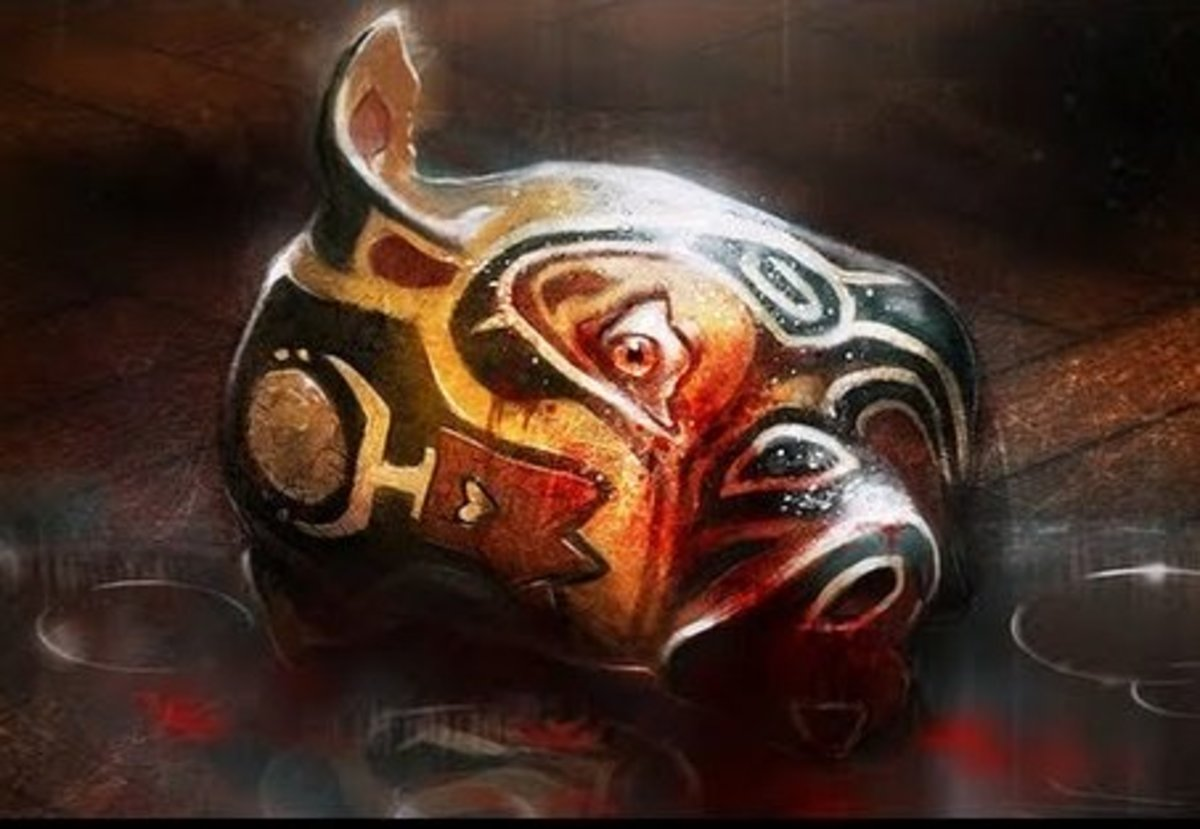 "Pig Mask in ""AAMP"""