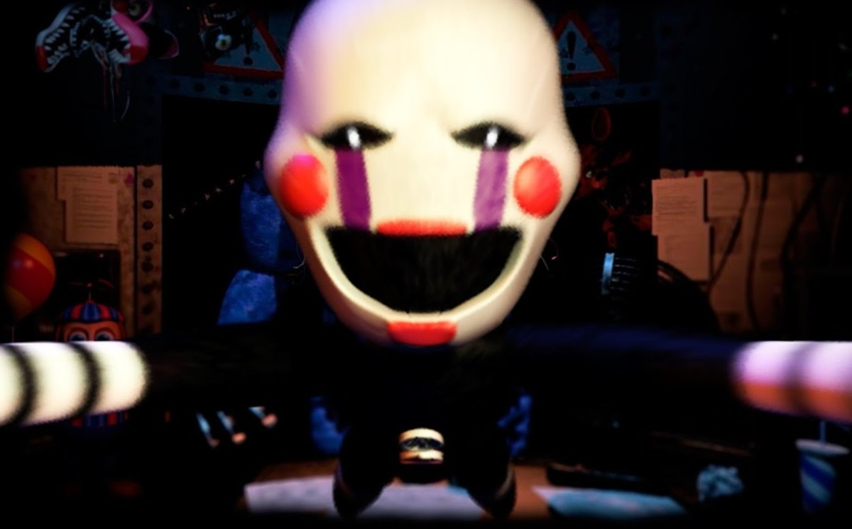 """The Puppet in """"FNAF 2"""""""