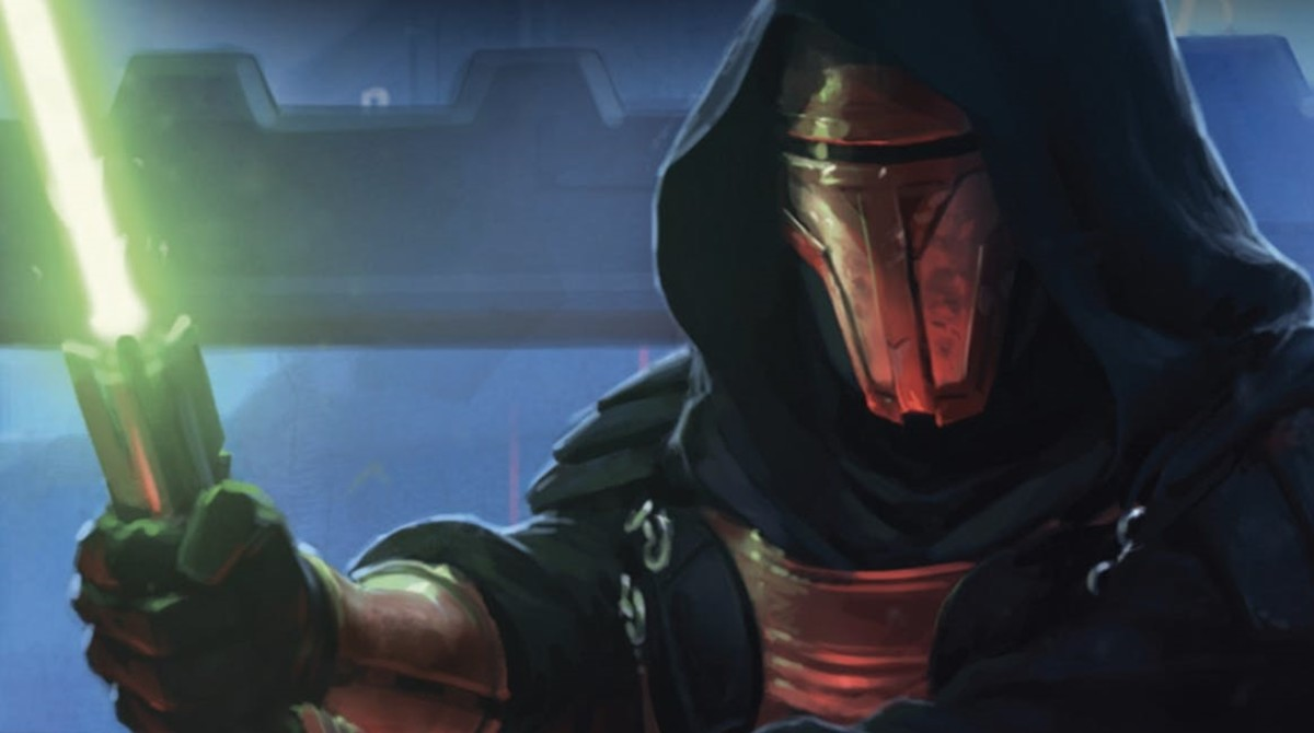 "Darth Revan in ""Star Wars: Knights of the Old Republic"""