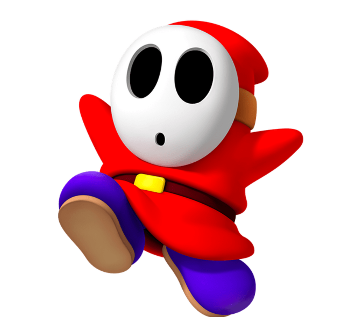 "Shy Guy mask in ""Mario"" Games"