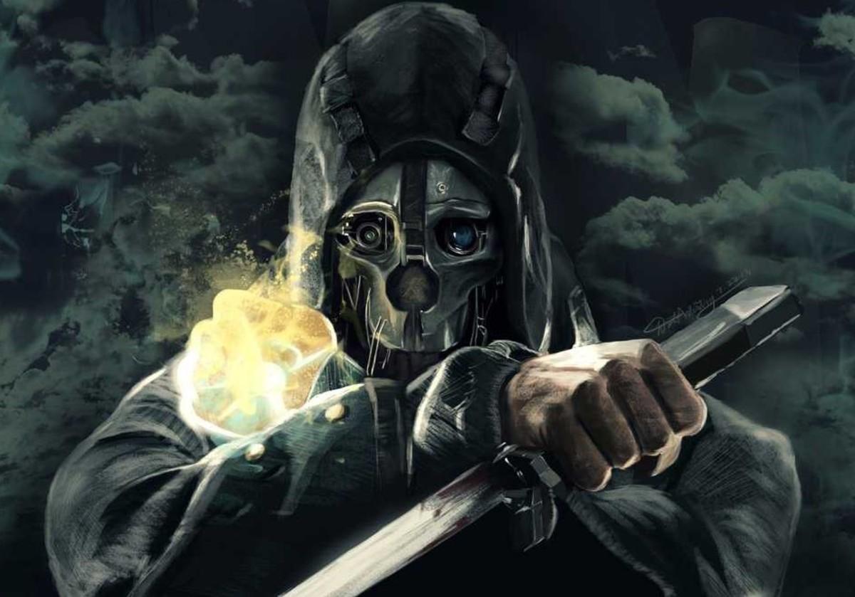 "Corvo in ""Dishonored"""