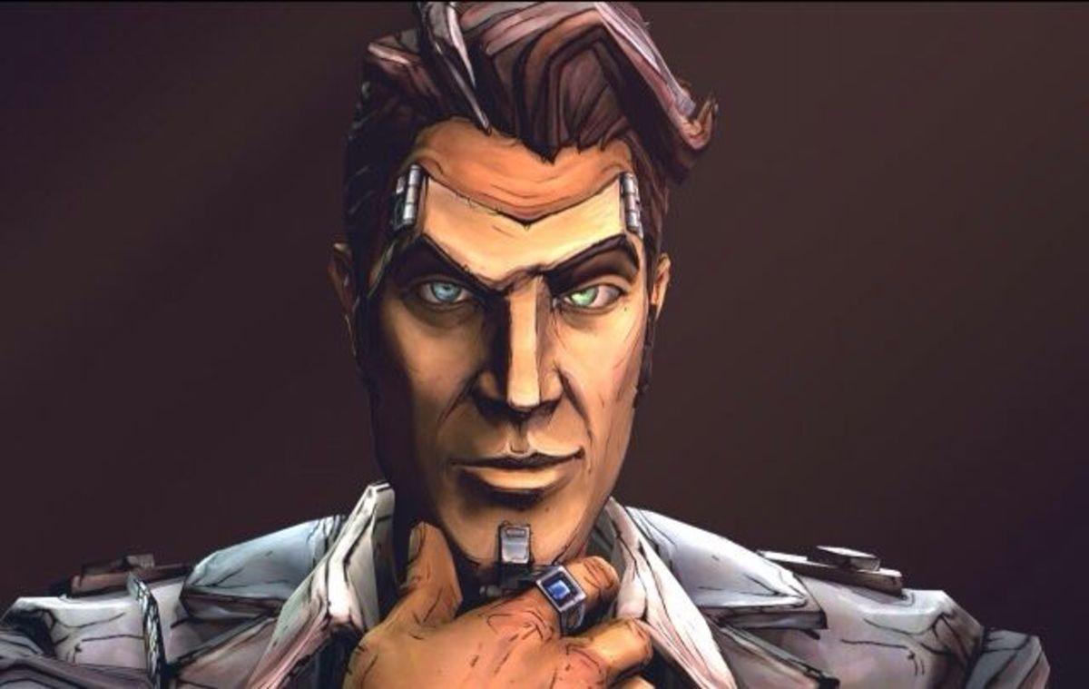 """Handsome Jack Mask in """"Borderlands 2"""""""