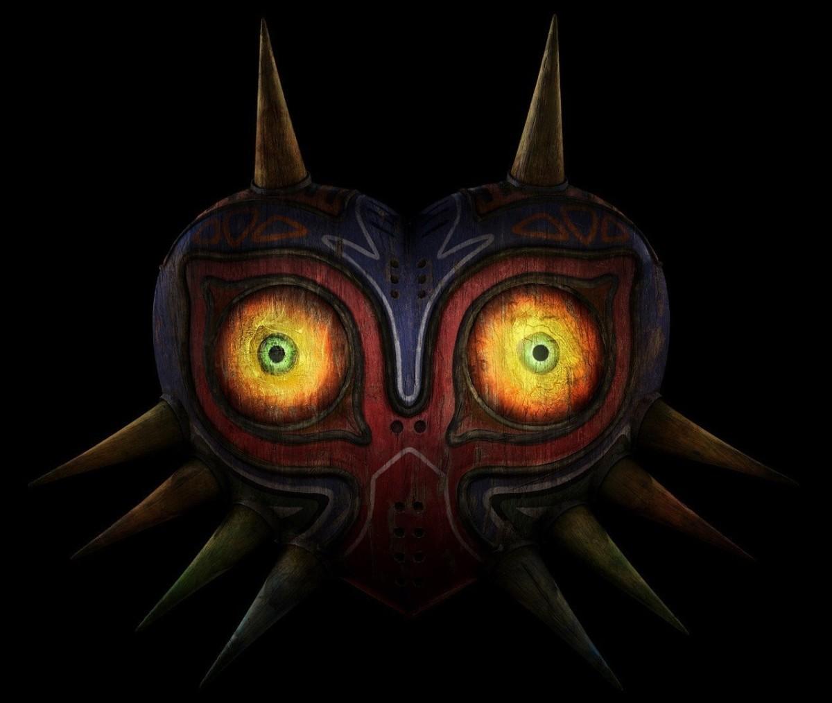 "Majora's Mask in ""The Legend of Zelda: Majora's Mask"""
