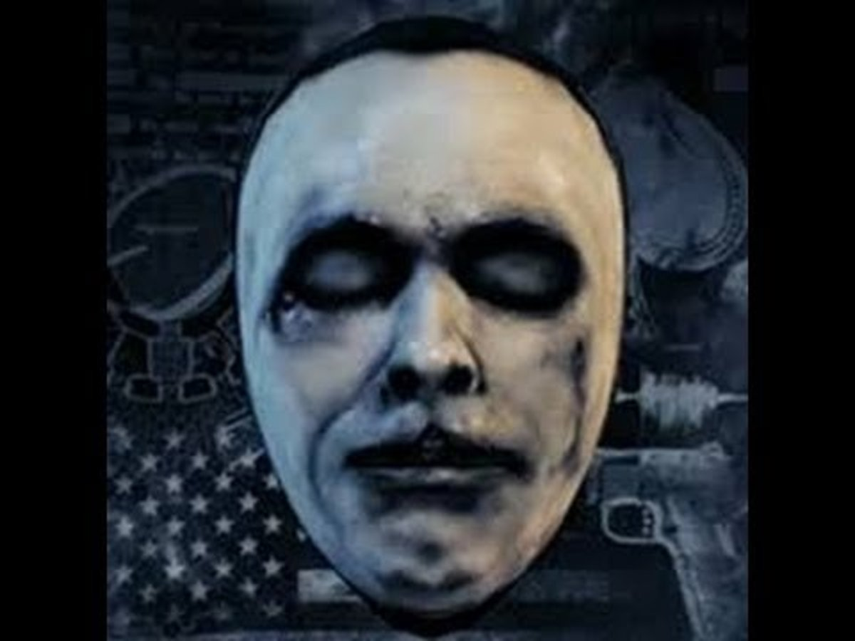 "Dillinger Death Mask in ""Payday 2"""