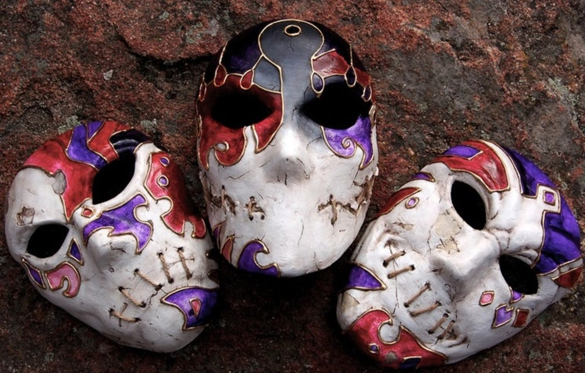 """Jack of Blades Masks in """"Fable"""""""