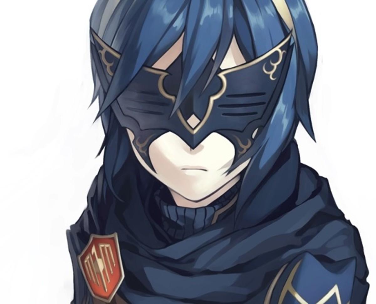 """Lucina's Mask in """"FE: Awakening"""""""