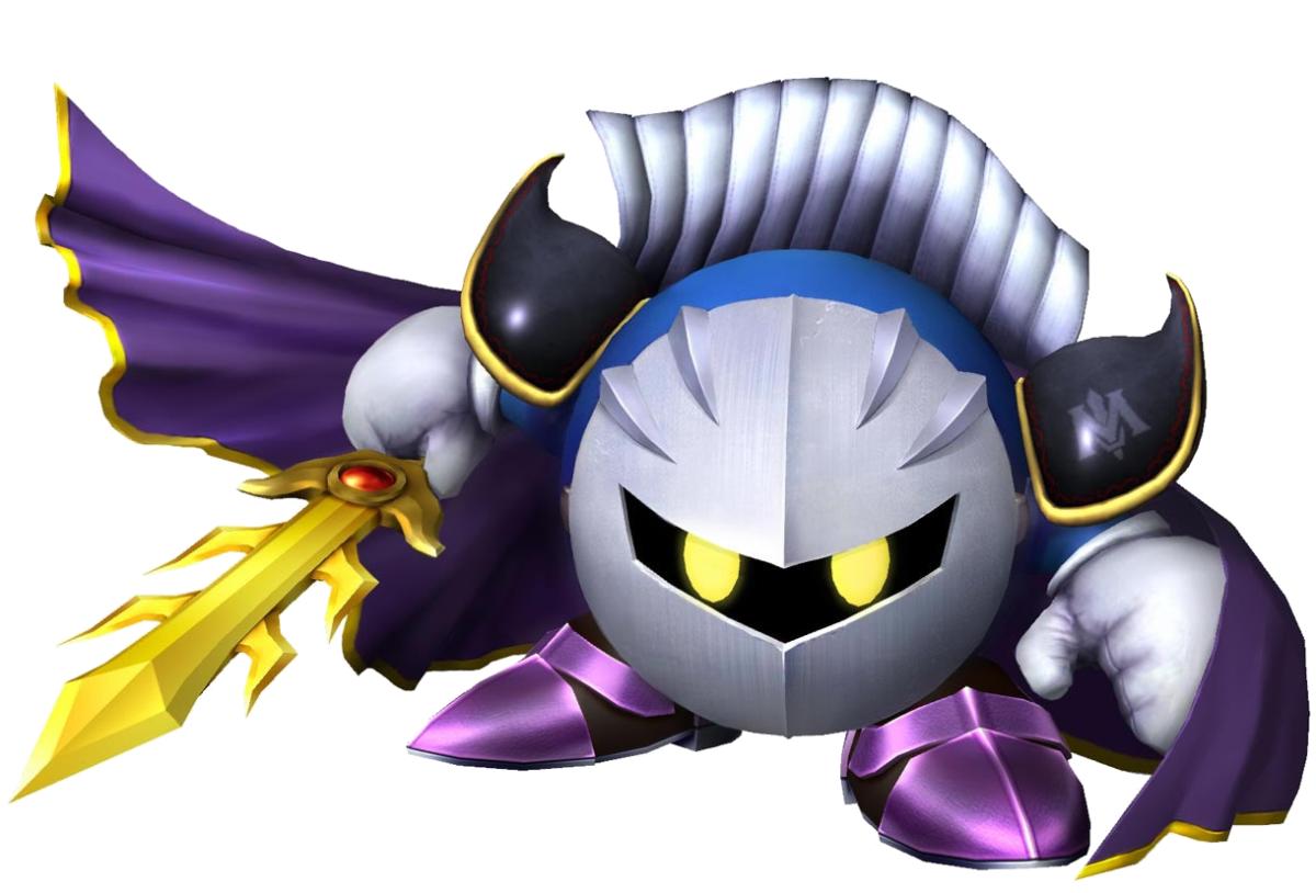 "Meta Knight in ""Kirby's Adventure"""
