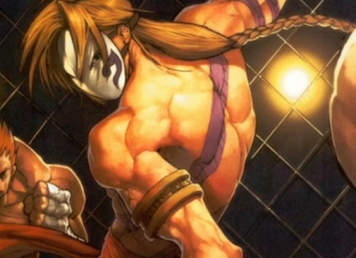 """Vega Mask in """"Street Fighter"""""""
