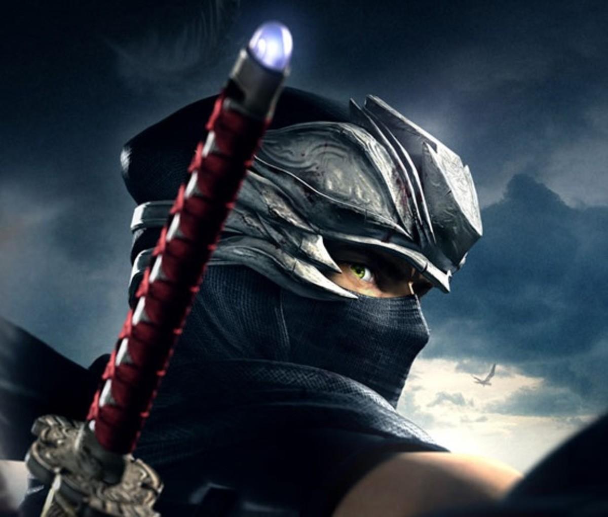 "Ryu's Mask in ""Ninja Gaiden"""
