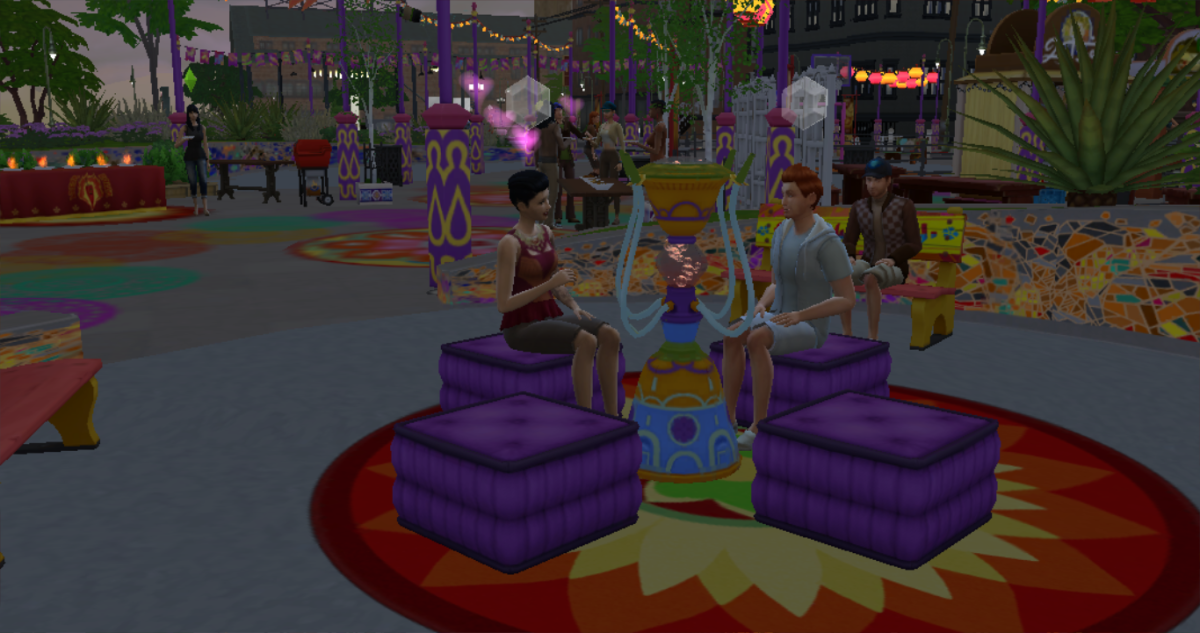 Festivals are a great place for meeting people, going on dates or just exposing your Sim to fun new activities.