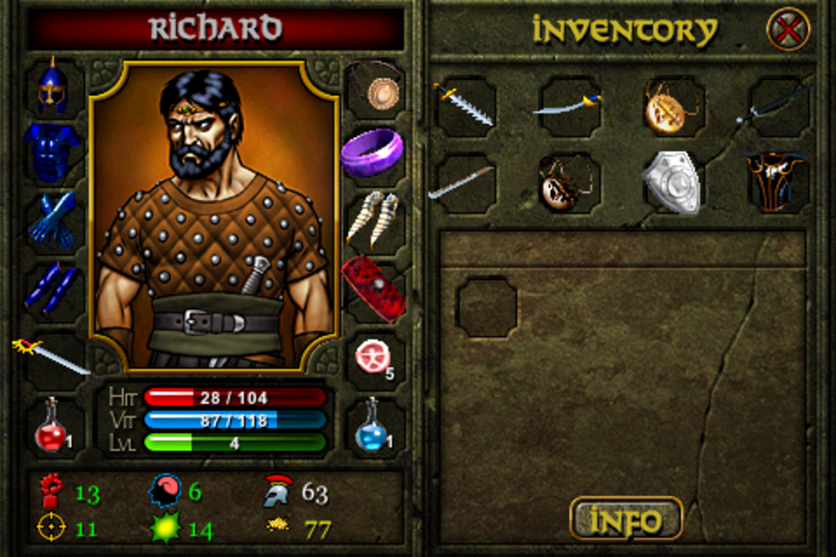 How are you carrying all of those weapons, Richard?