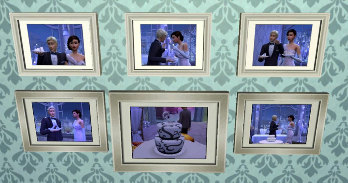 Some of my favorite wedding photos revolve around the cake.
