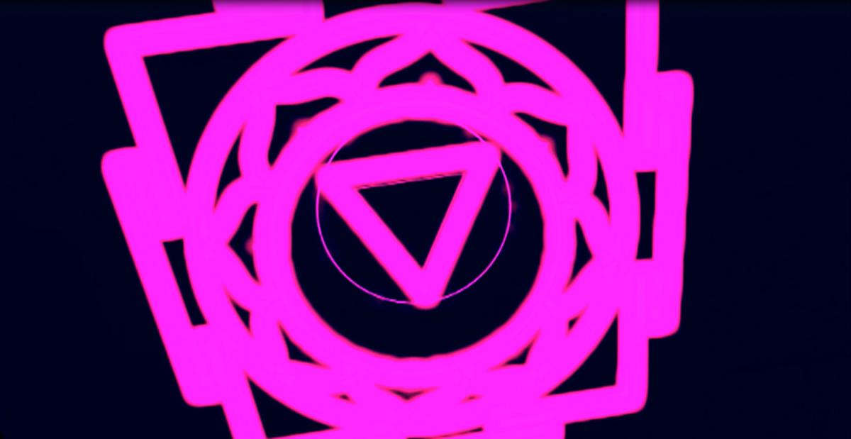 Master Reboot has several pink icons scattered throughout the game. These are viruses that can be interacted with in order to show some horror artwork along with creepy messages from the antagonist of the game.