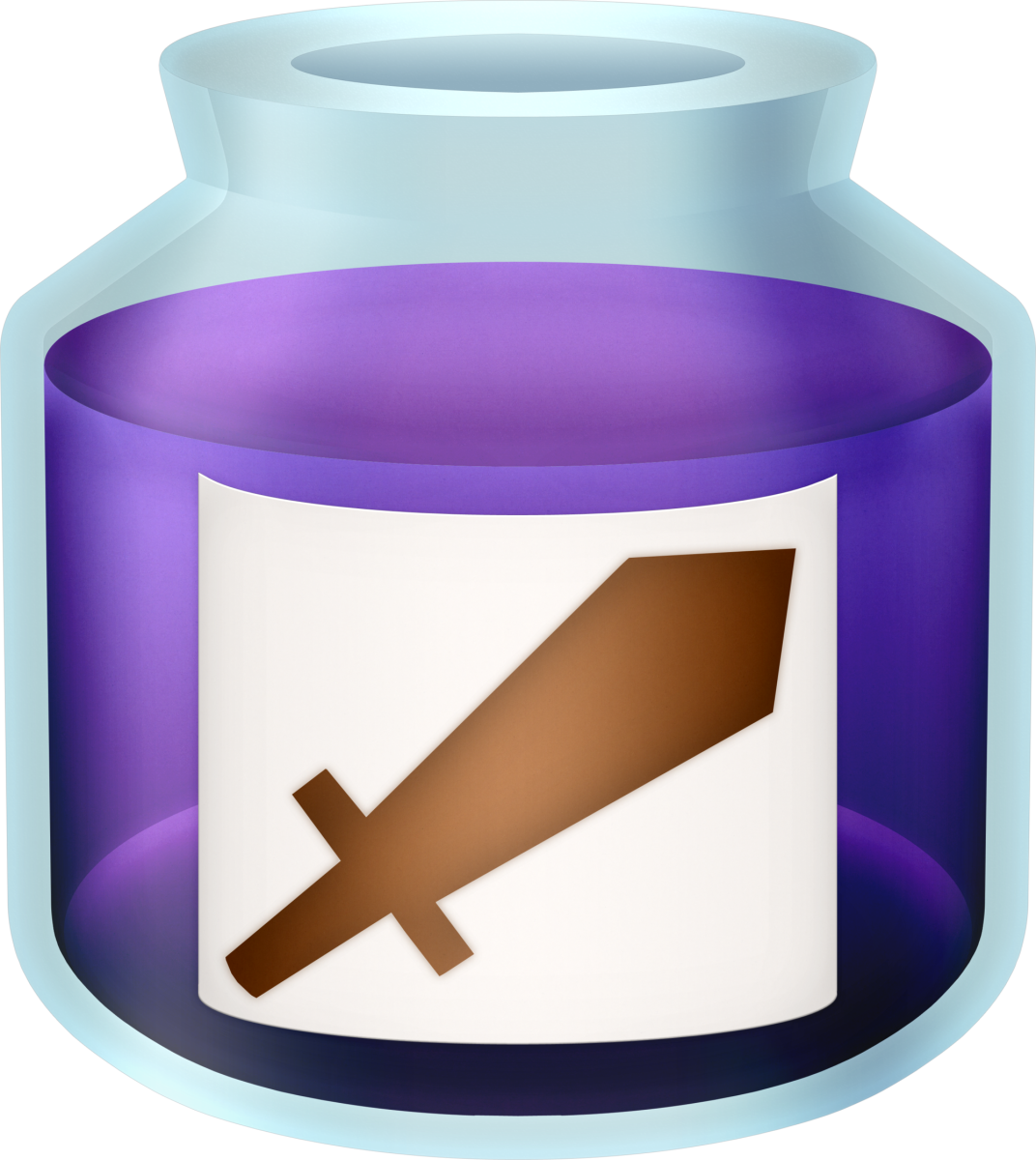 "Purple Potion in ""A Link Between Worlds"""