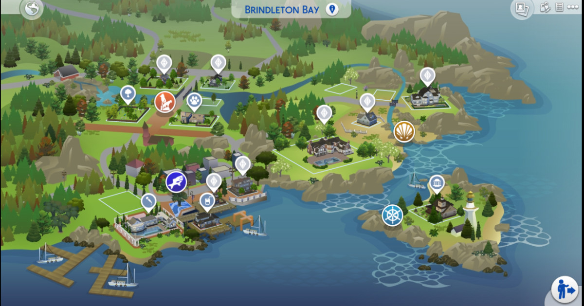 I love the country/cottage small town coastal vibe of Brindleton Bay.