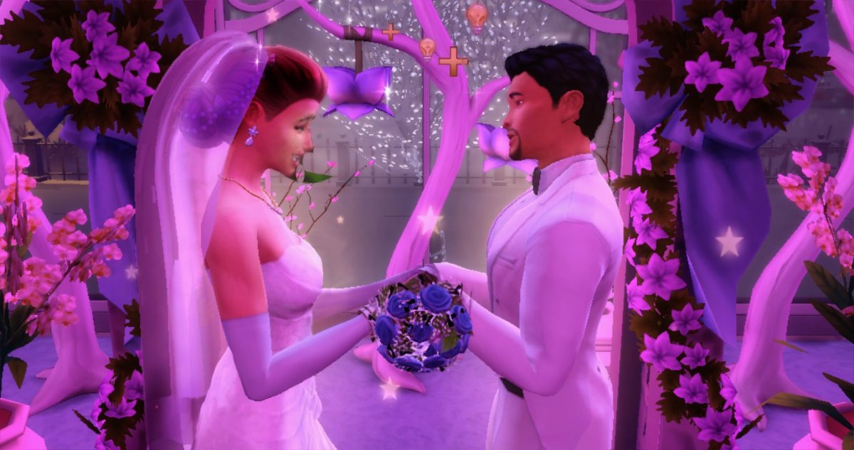 "How to Win a Gold Medal for a Wedding in ""The Sims 4"""