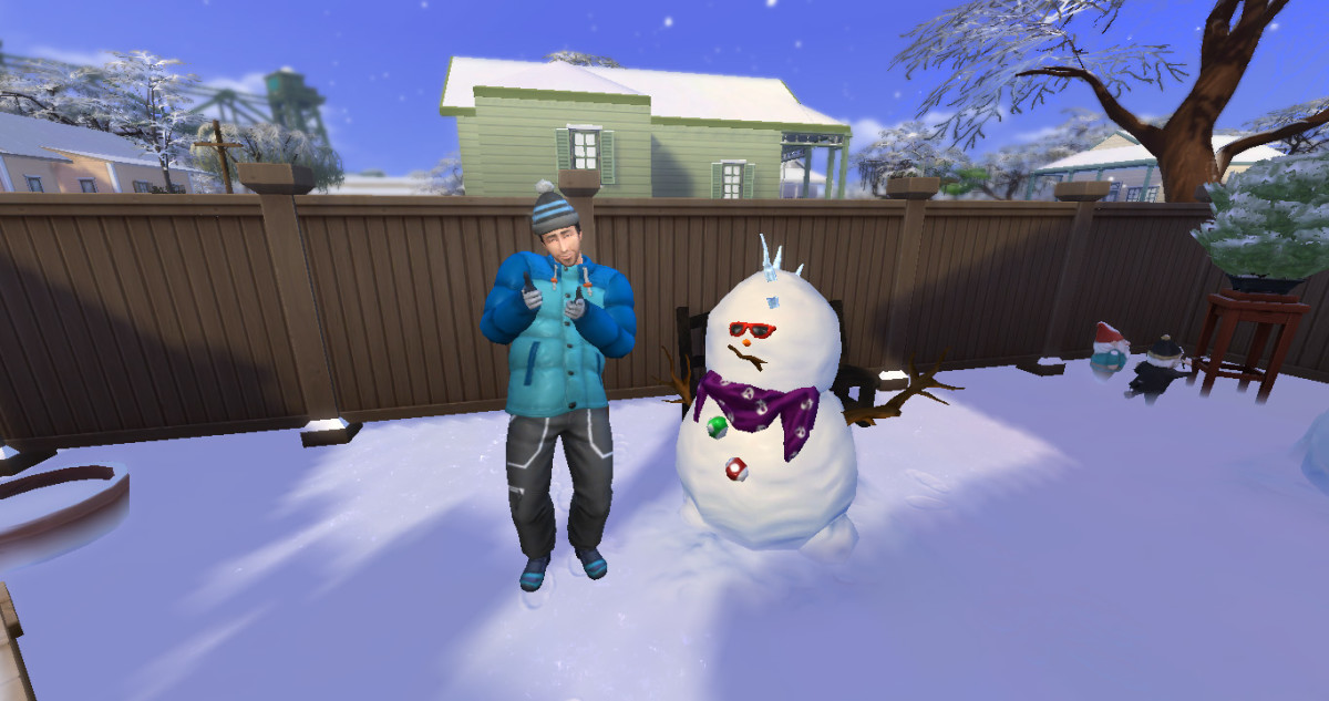 Get your Sims outdoors in all four seasons, because they all offer different fun things to do.