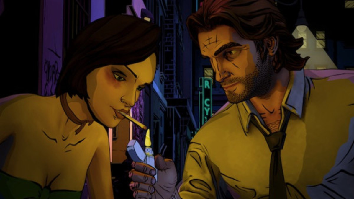 Faith and Bigby in Episode 1
