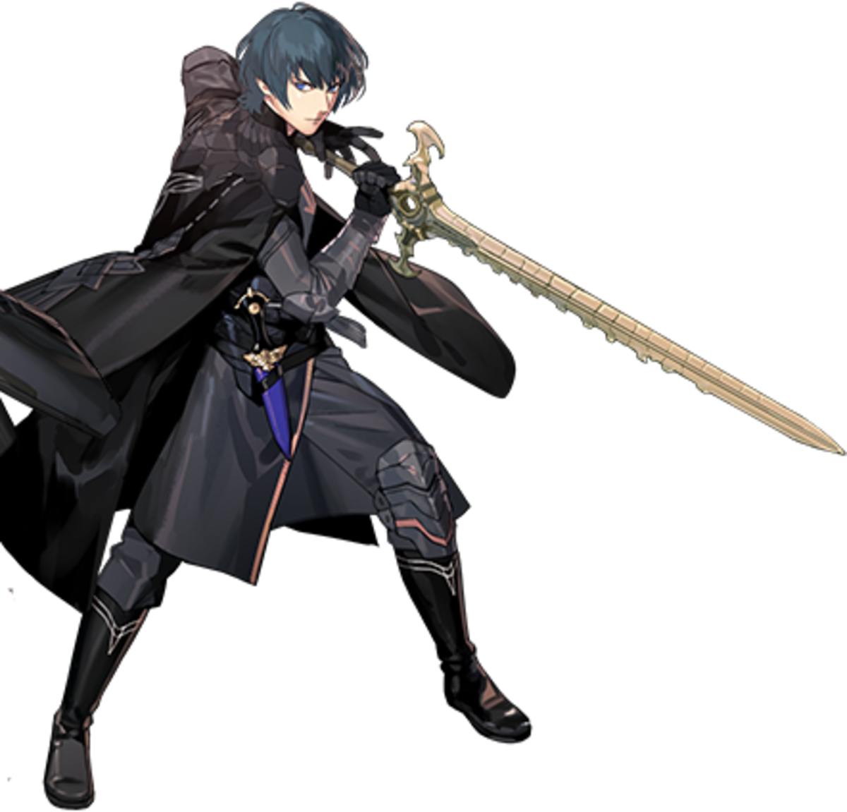 Byleth with the Sword of the Creator