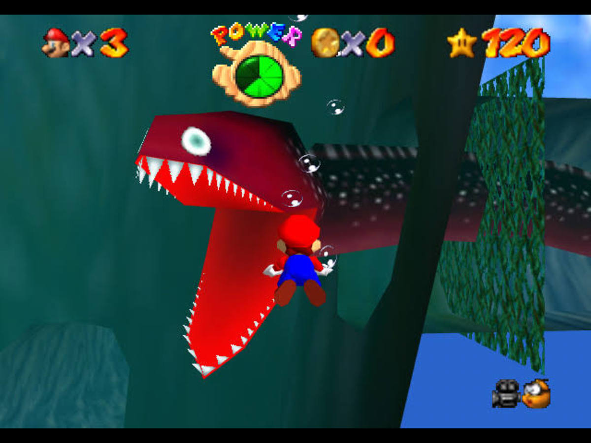 This horrific eel made Super Mario 64 players jump out of their skins