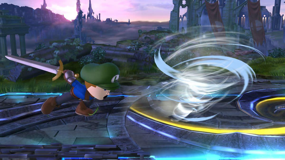 Mii Swordfighter's Gale Strike