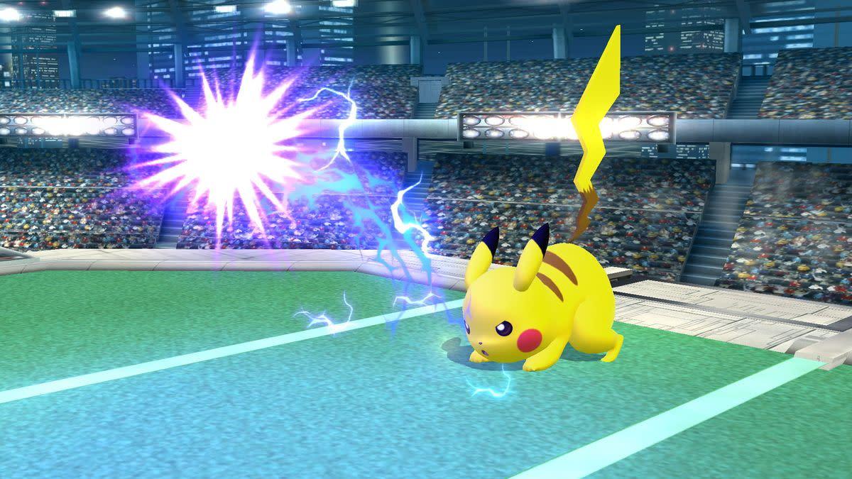Pikachu's Thunder Jolt