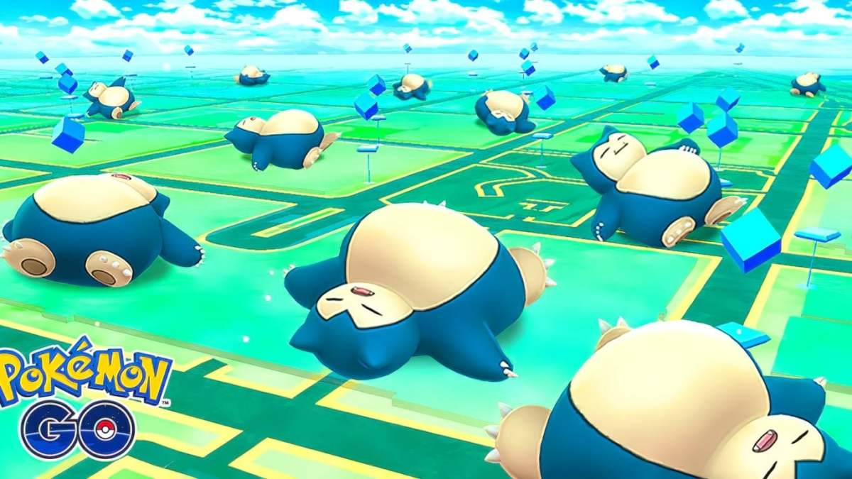 Snorlax in Pokémon GO
