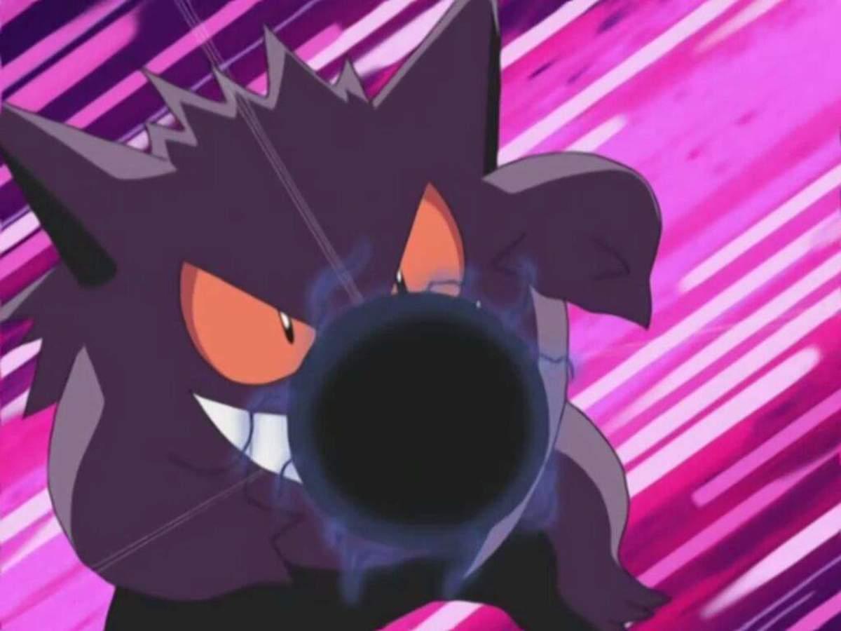 Gengar using Shadow Ball