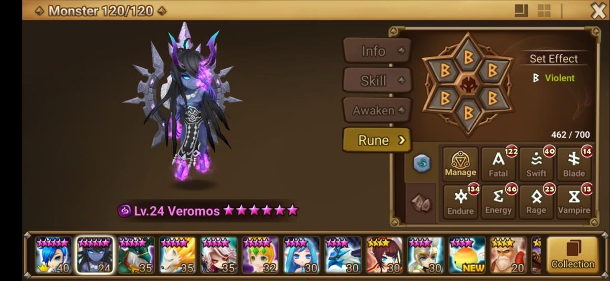 Veromoss Monster Info