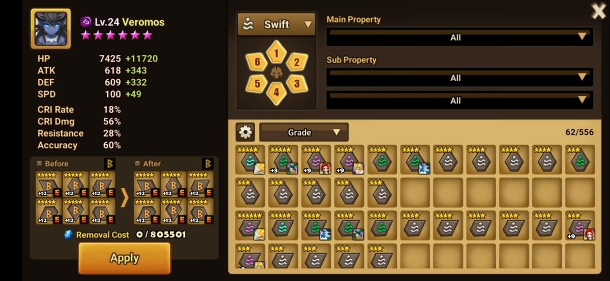 Rune Management Tool for Veromoss