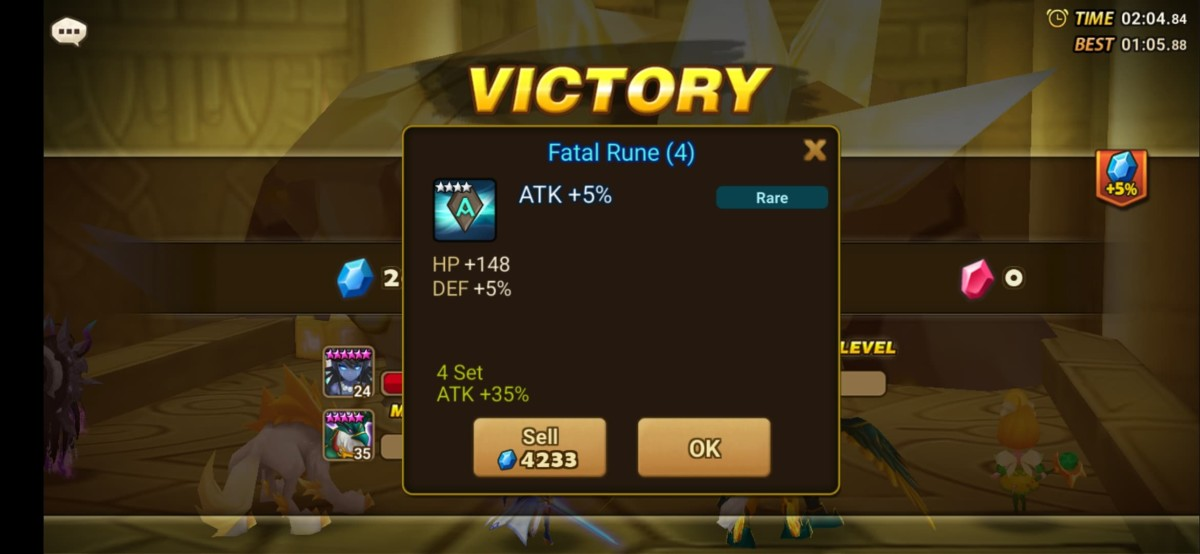 Rune rewards from Giant's Keep makes it easier to obtain good runes.
