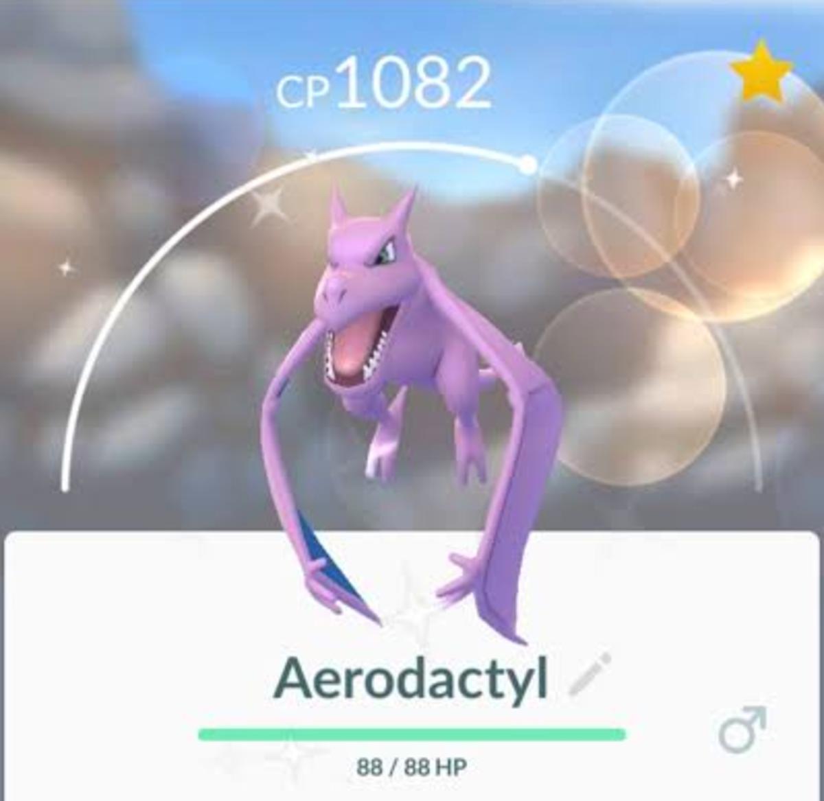 Shiny Aerodactyl