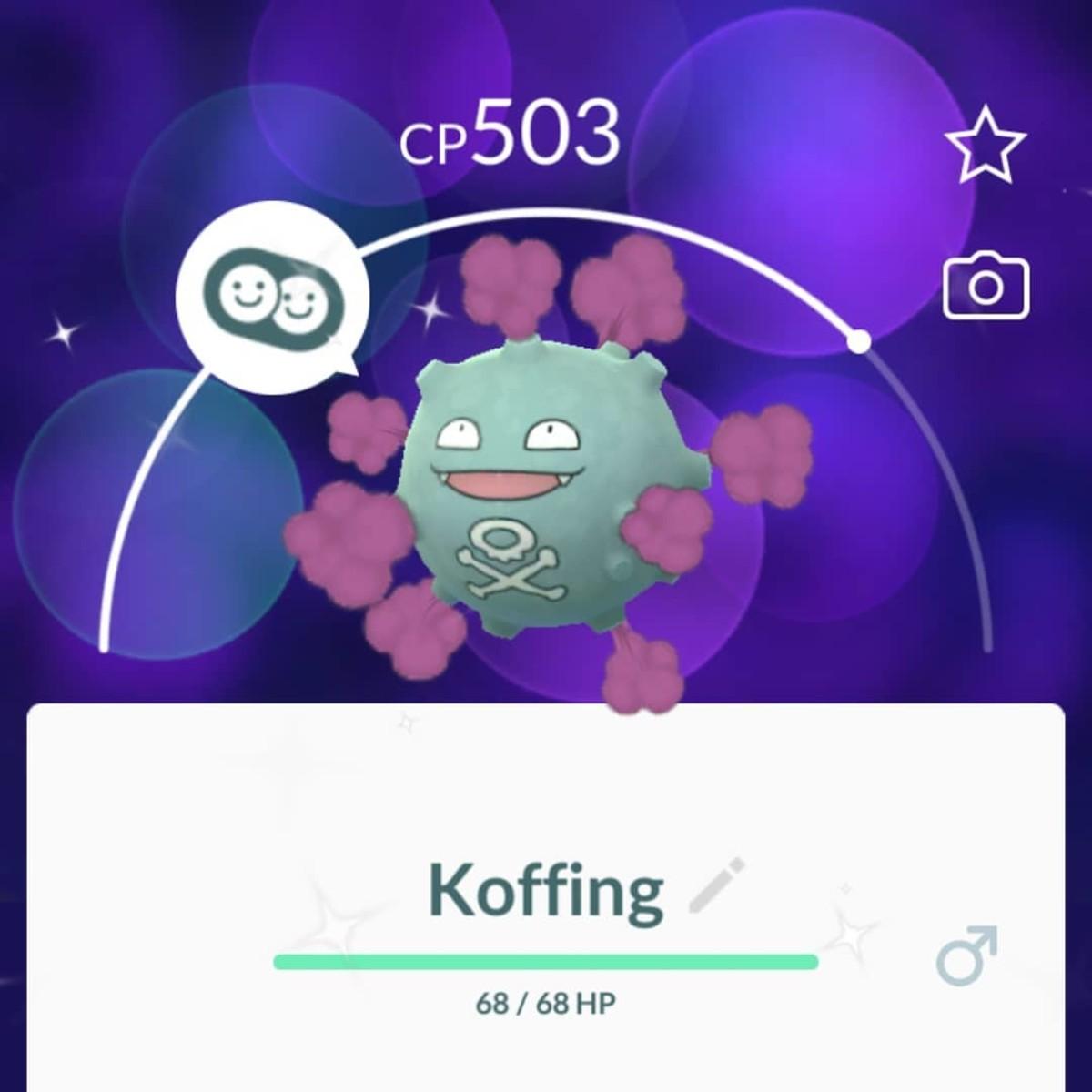 Shiny Koffing