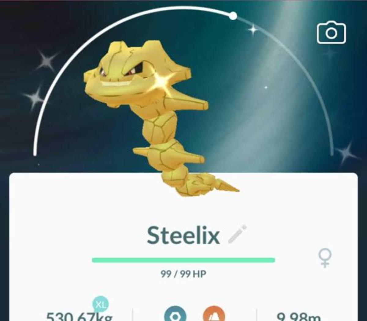 Shiny Steelix