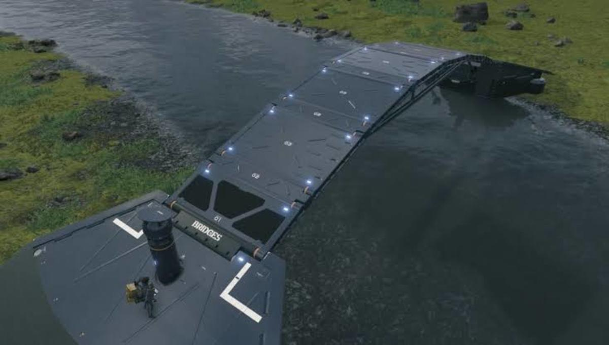 Bridges are extremely helpful, and other players will definitely thank you for building one!