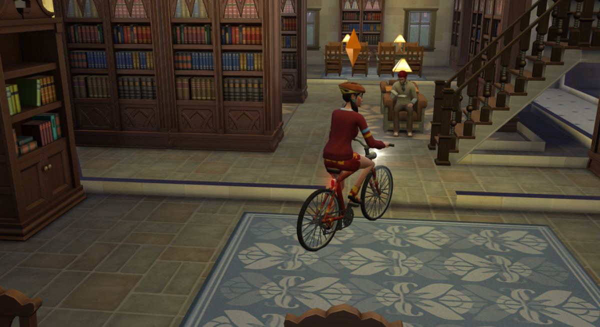 —and I do mean everywhere, including indoors. They will pull out their bikes autonomously and use them frequently.
