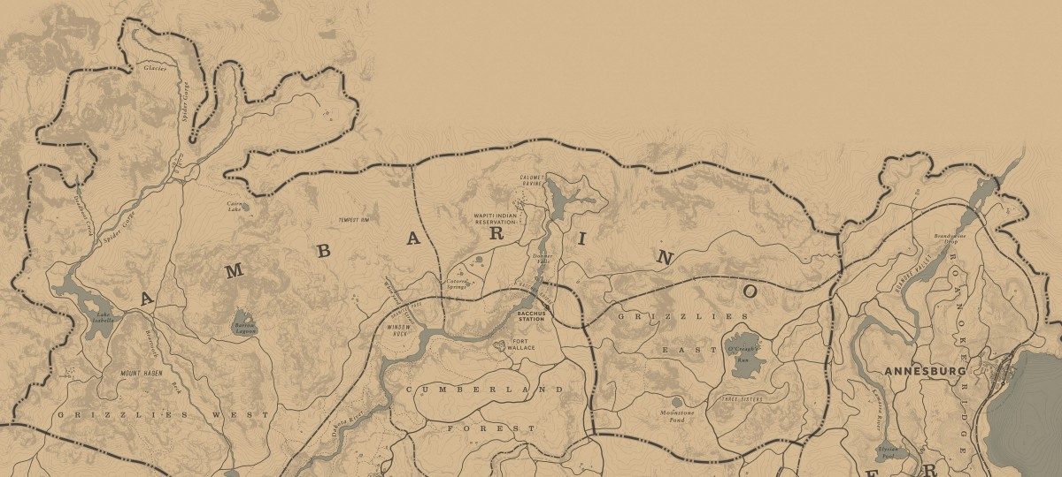 Pretty much everywhere in this screenshot is where you can find Elk roaming around.
