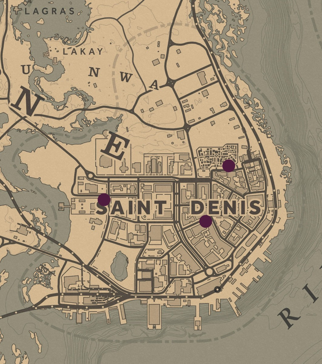 These three Rescues in Saint Denis occur at night. They are also the most likely to occur if you're having trouble finding one.