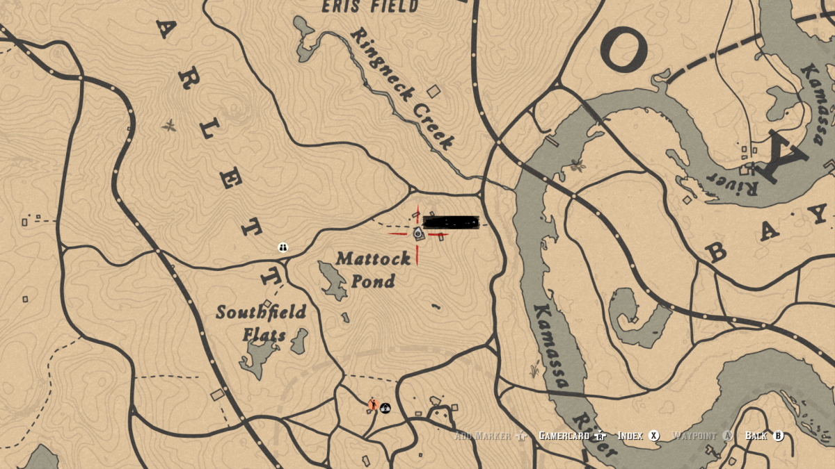Gold Wedding Ring at this homestead. (Leymone)