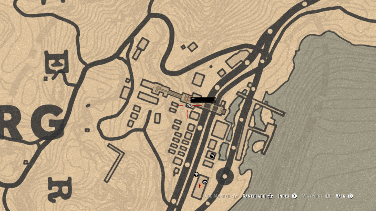 The only useful thing to loot here in Annesberg are the two Gold Earrings in this mine office. (New Hanover)