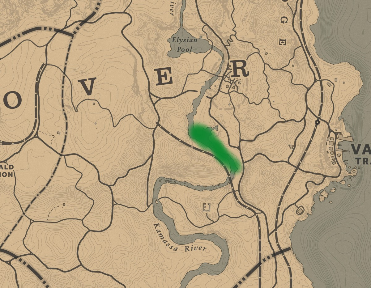 """You can also find Beavers here, south of Butcher Creek, where you can find the Legendary Beaver in """"Story Mode""""."""